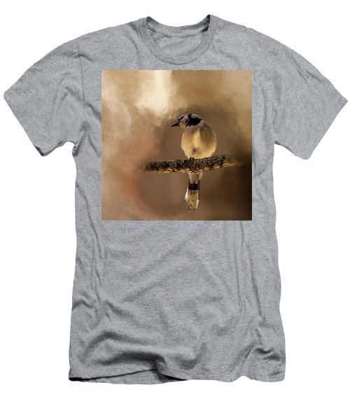 Who's There? Men's T-Shirt (Slim Fit) by Cyndy Doty