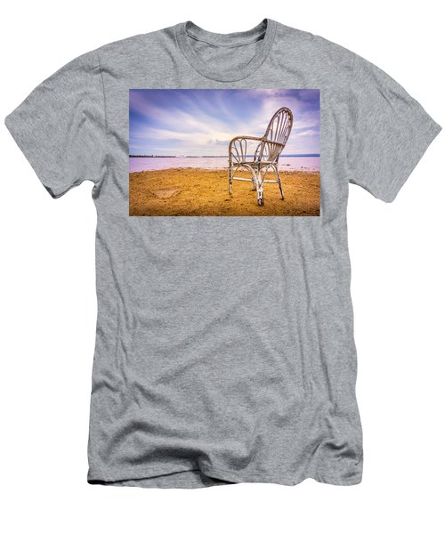 Wicker Chair Men's T-Shirt (Athletic Fit)