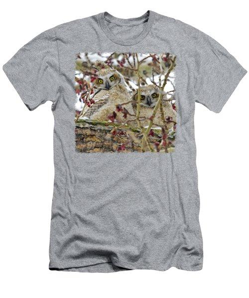 Wide-eyed Wonders Men's T-Shirt (Slim Fit) by Dee Cresswell