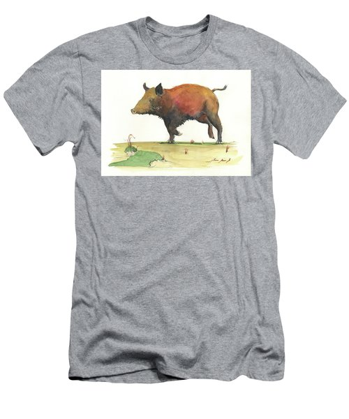 Wild Boar Delgadin Men's T-Shirt (Athletic Fit)