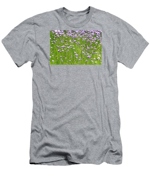Wild Chives Men's T-Shirt (Slim Fit) by Chevy Fleet