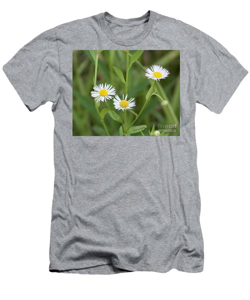 Wild Flower Sunny Side Up Men's T-Shirt (Athletic Fit)