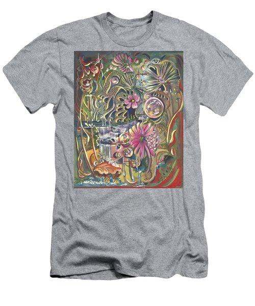 Wild Honeycomb Men's T-Shirt (Athletic Fit)