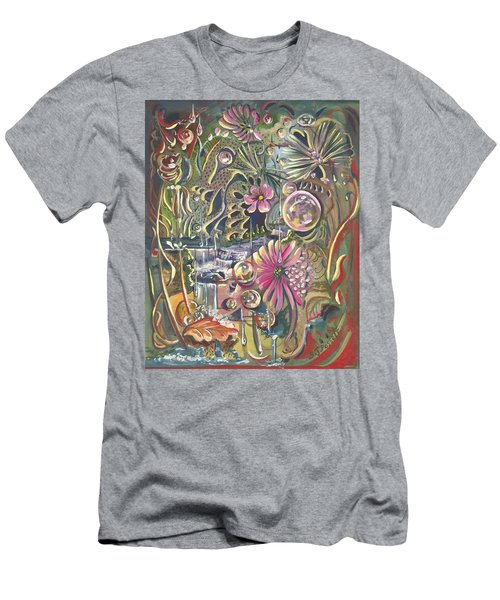 Wild Honeycomb Men's T-Shirt (Athletic Fit)