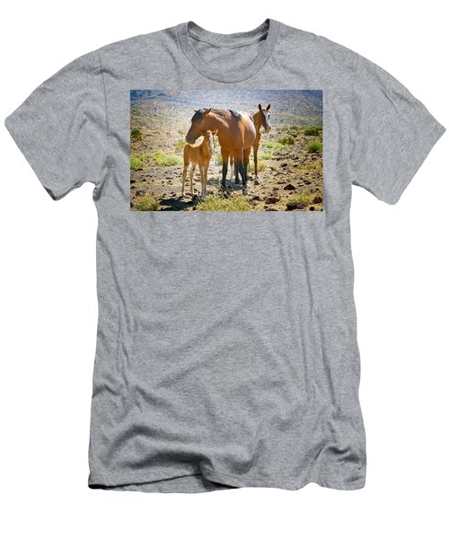 Wild Horse Family Men's T-Shirt (Athletic Fit)