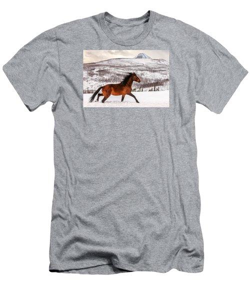 Wild Horse Men's T-Shirt (Athletic Fit)