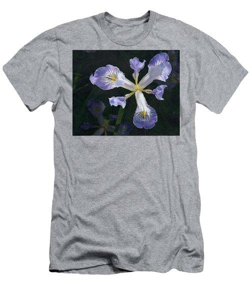 Wild Iris 2 Men's T-Shirt (Slim Fit) by I'ina Van Lawick