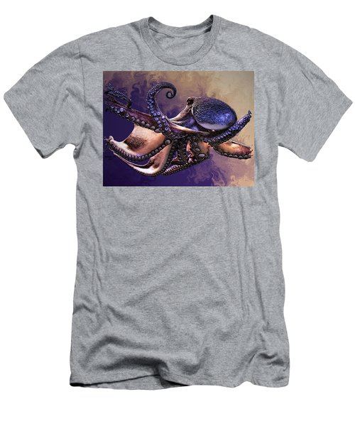 Wild Octopus Men's T-Shirt (Athletic Fit)