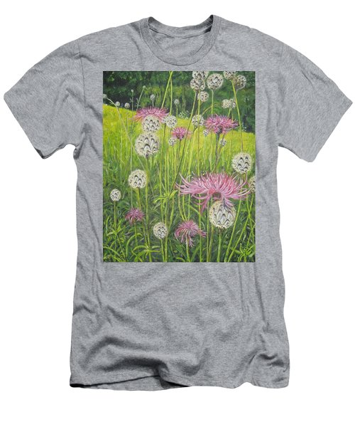 Wild Thistles Men's T-Shirt (Athletic Fit)