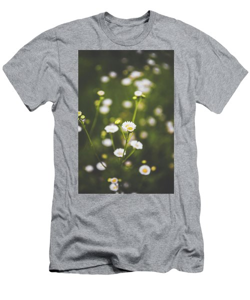Men's T-Shirt (Slim Fit) featuring the photograph Wildflower Beauty by Shelby Young