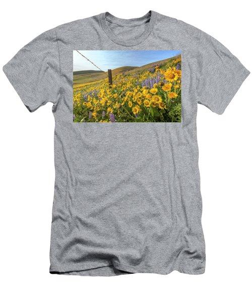 Wildflower Bonanza Men's T-Shirt (Athletic Fit)