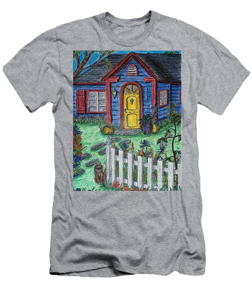 Wildflower Cottage Men's T-Shirt (Athletic Fit)