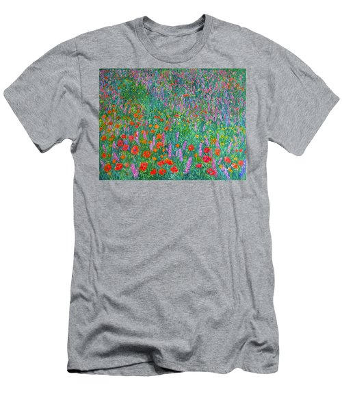 Wildflower Current Men's T-Shirt (Athletic Fit)