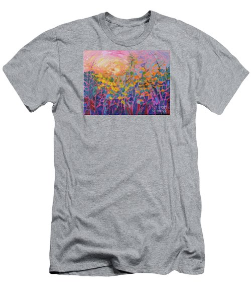 Wildflower II Men's T-Shirt (Athletic Fit)