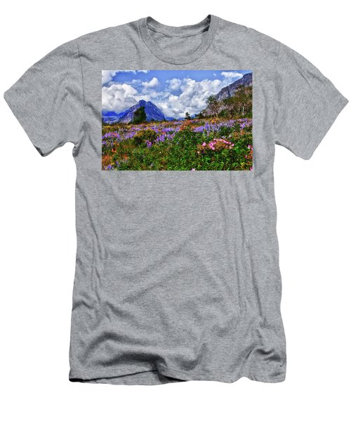 Wildflower Profusion Men's T-Shirt (Athletic Fit)