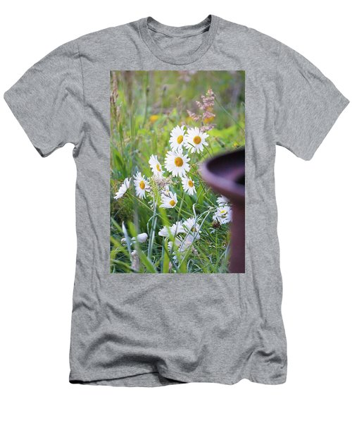 Wildflowers Men's T-Shirt (Slim Fit) by Angi Parks