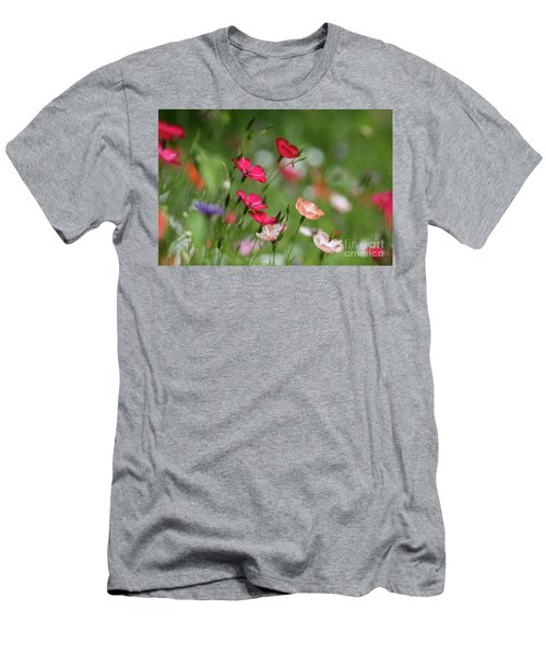 Wildflowers Meadow Men's T-Shirt (Athletic Fit)