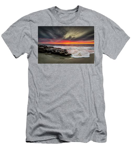 Men's T-Shirt (Slim Fit) featuring the photograph Will Of The Wind by Peter Tellone