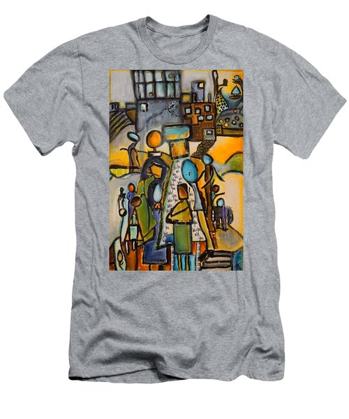Will You Men's T-Shirt (Slim Fit) by Theresa Marie Johnson