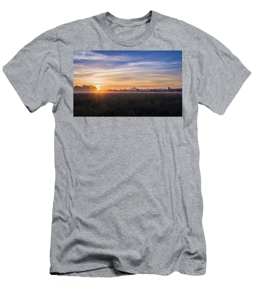 Willamette Valley Sunrise Men's T-Shirt (Athletic Fit)