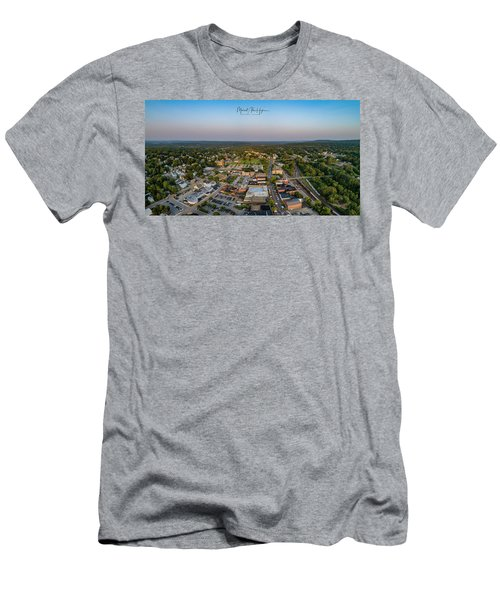 Willimantic Panorama Men's T-Shirt (Athletic Fit)