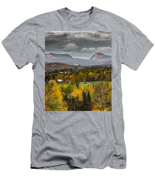 Willoughby Gap Late Fall Men's T-Shirt (Slim Fit) by Tim Kirchoff