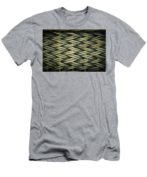 Men's T-Shirt (Slim Fit) featuring the photograph Willow Weave by Les Cunliffe