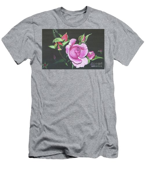 Will's Rose Men's T-Shirt (Athletic Fit)