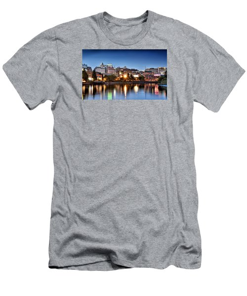 Wilmington Delaware Men's T-Shirt (Slim Fit) by Brendan Reals