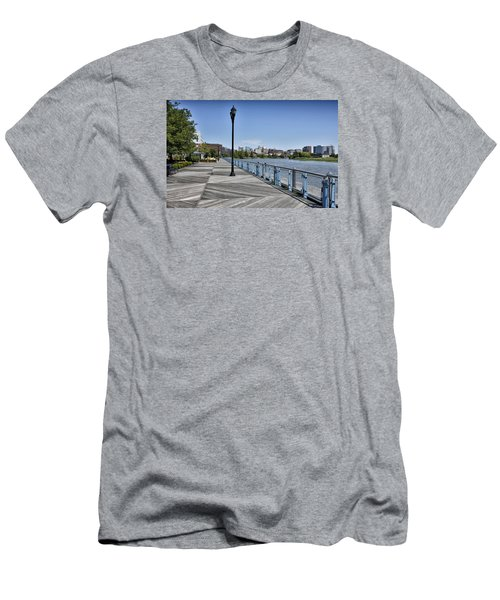 Wilmington Riverwalk - Delaware Men's T-Shirt (Slim Fit) by Brendan Reals