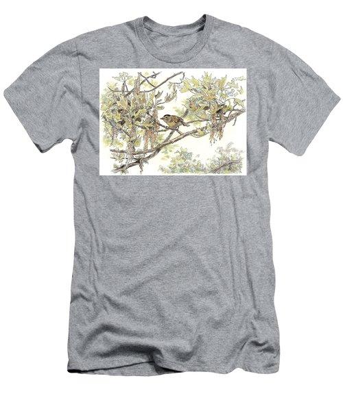 Wilson's Warbler Men's T-Shirt (Athletic Fit)