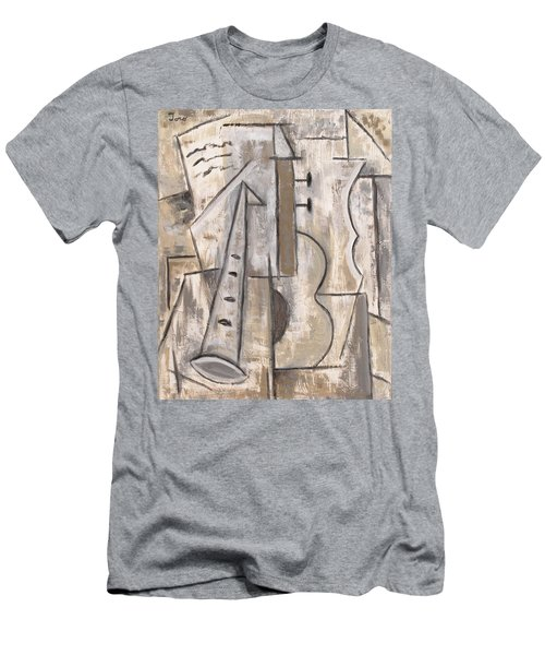 Wind And Strings Men's T-Shirt (Slim Fit) by Trish Toro