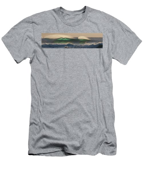 Wind And Waves Men's T-Shirt (Slim Fit) by Roger Mullenhour