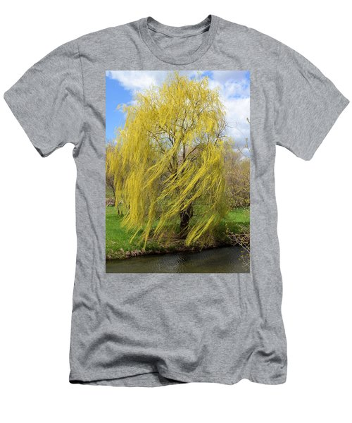 Wind In The Willow Men's T-Shirt (Athletic Fit)
