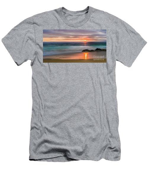 Windansea Beach At Sunset Men's T-Shirt (Athletic Fit)
