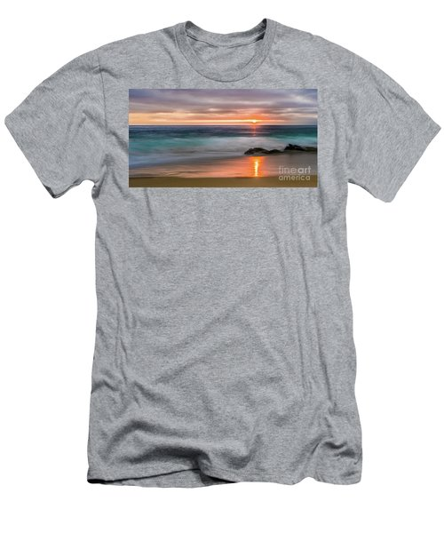 Windansea Beach At Sunset Men's T-Shirt (Athletic Fit)