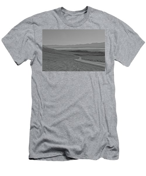 Men's T-Shirt (Athletic Fit) featuring the photograph Winding Road, Death Valley, California by Frank DiMarco