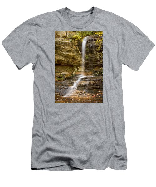 Window Falls In Hanging Rock State Park Men's T-Shirt (Athletic Fit)