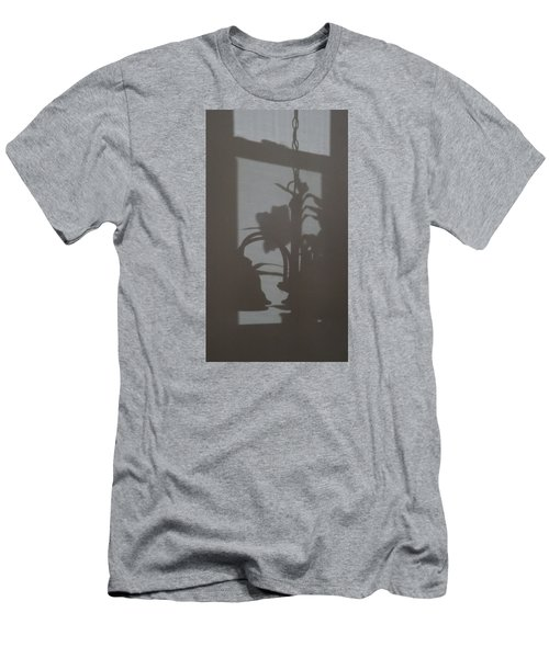 Men's T-Shirt (Slim Fit) featuring the photograph Window Shadows 1 by Don Koester