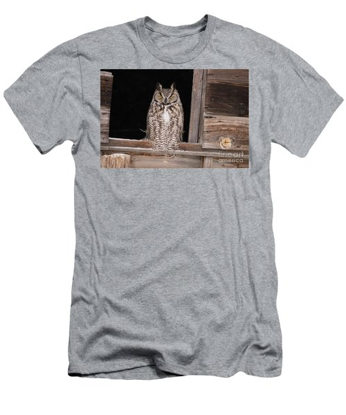 Window Sitting Men's T-Shirt (Athletic Fit)