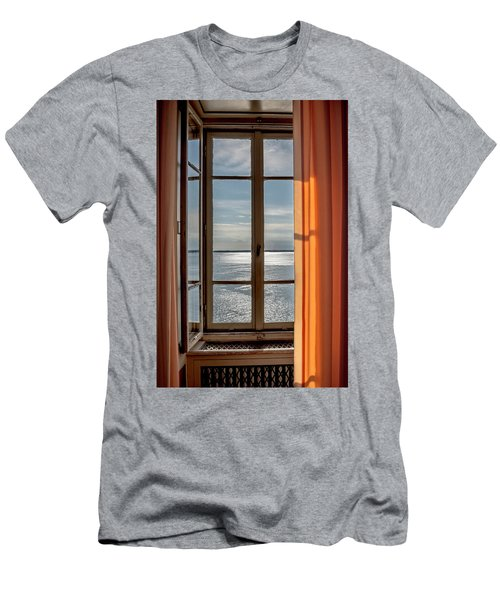 Window With A View Men's T-Shirt (Athletic Fit)