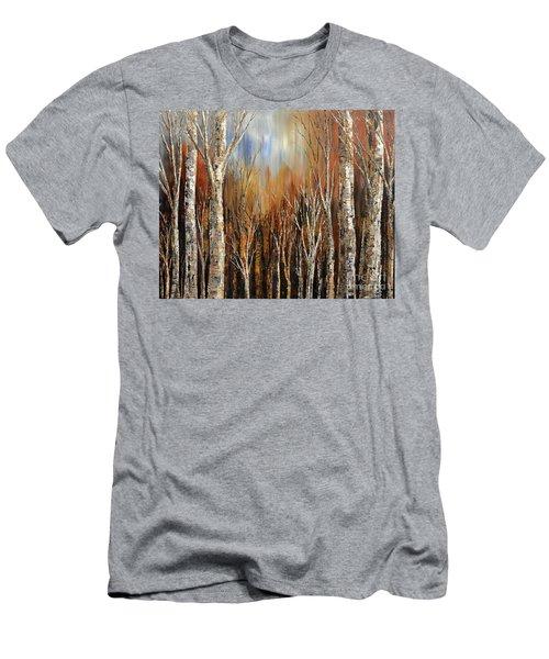 Winds Of Autumn Men's T-Shirt (Slim Fit) by Tatiana Iliina