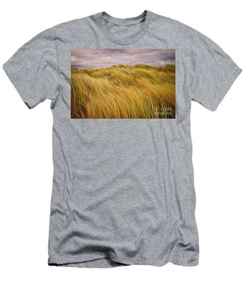 windswept Grasses Men's T-Shirt (Athletic Fit)