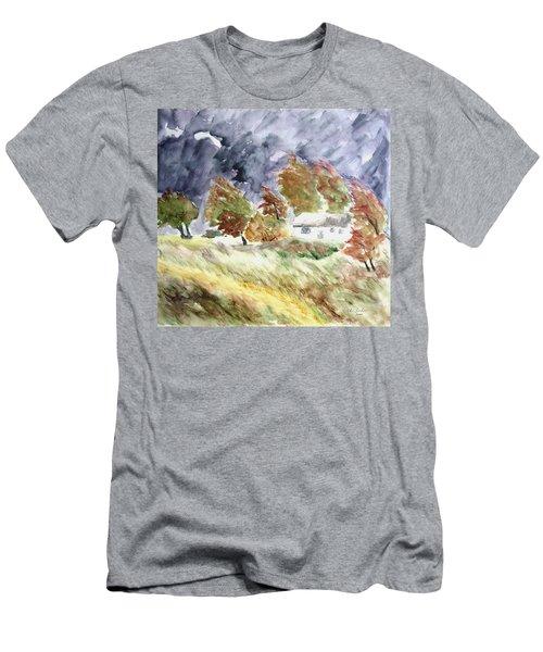 Windswept Landscape Men's T-Shirt (Athletic Fit)
