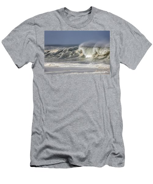 Windswept Men's T-Shirt (Slim Fit) by Mark Alder