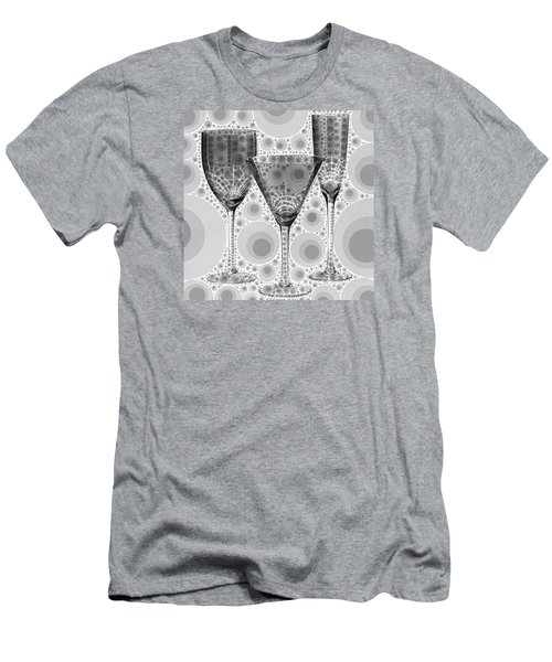 Wine Glass Art-3 Men's T-Shirt (Athletic Fit)