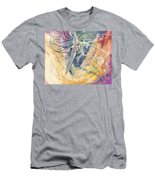 Wings Of Transformation Men's T-Shirt (Athletic Fit)
