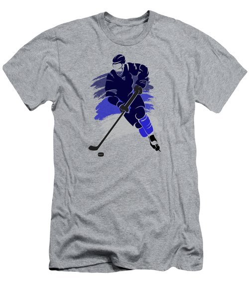 Winnipeg Jets Player Shirt Men's T-Shirt (Slim Fit) by Joe Hamilton