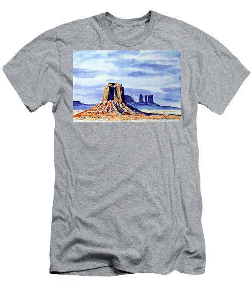 Winter At Merrick Butte Men's T-Shirt (Athletic Fit)