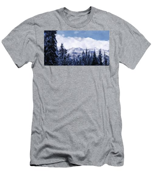 Winter At Revelstoke Men's T-Shirt (Athletic Fit)
